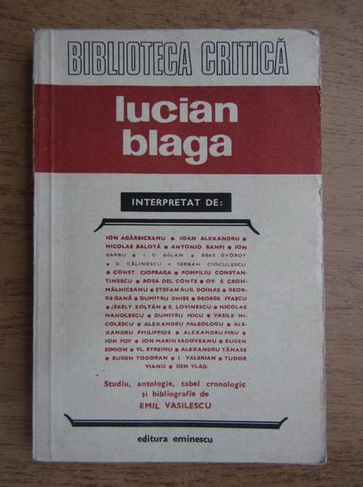 Anticariat: Ion Agarbiceanu, Ioan Alexandru - Lucian Blaga