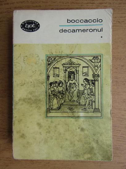 Anticariat: Giovanni Boccaccio - Decameronul (volumul 1)