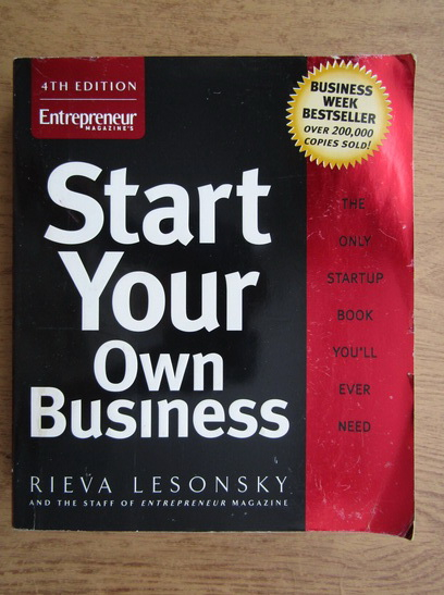 Anticariat: Rieva Lesonsky - Start your own business