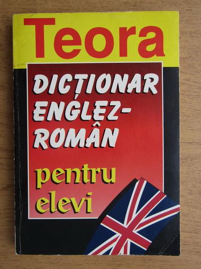 Anticariat: Andrei Bantas - Dictionar englez-roman pentru elevi