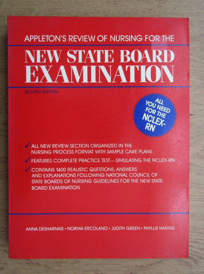 Anticariat: Anna Desharnais - New state board examination