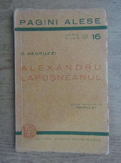 Anticariat: C. Negruzzi - Alexandru Lapusneanul (1936)