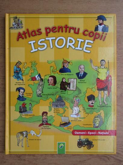 Anticariat: Atlas pentru copii, istorie