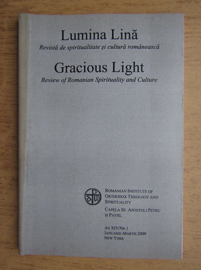 Anticariat: Revista Lumina Lina, an XIV, nr. 1, ianuarie-martie 2009