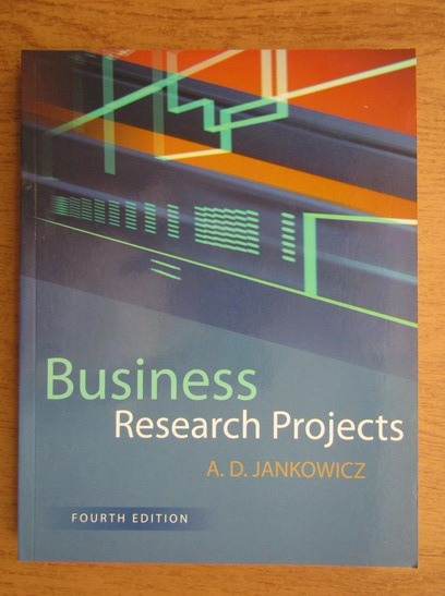 Anticariat: A. D. Jankowicz - Business research projects