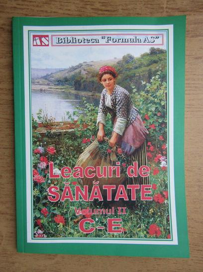 Anticariat: Leacuri de sanatate, volumul 2 C-E
