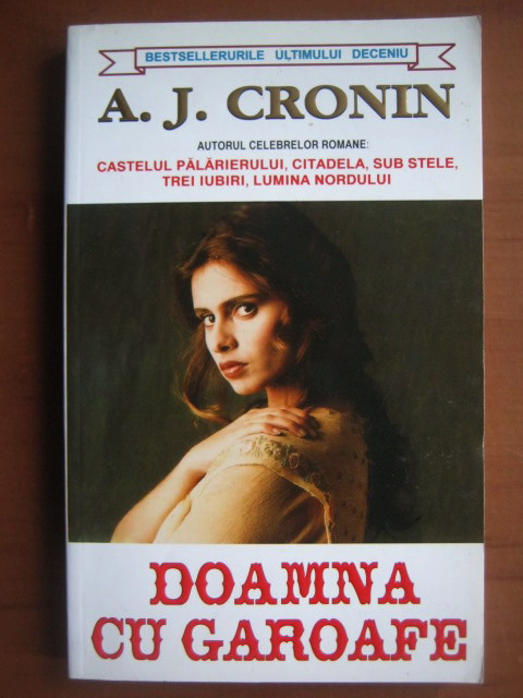 Anticariat: A. J. Cronin - Doamna cu garoafe