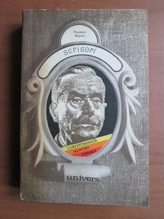 Anticariat: Thomas Mann - Scrisori