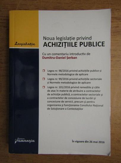 Anticariat: Noua legislatie privind achizitiile publice