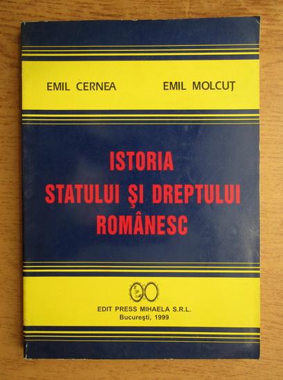 Anticariat: Emil Cernea - Istoria statului si dreptului romanesc