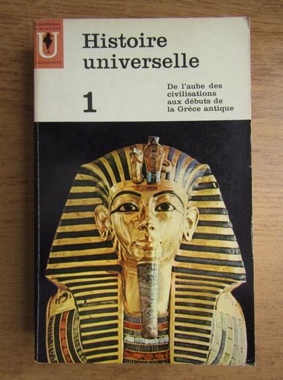 Anticariat: Carl Grimberg - Histoire universelle (volumul 1)