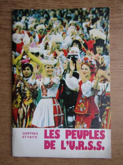 Anticariat: Leonide Oumanski - Les peuples de L'U.R.S.S.