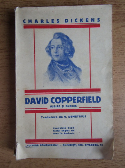 Anticariat: Charles Dickens - David Copperfield (1930)