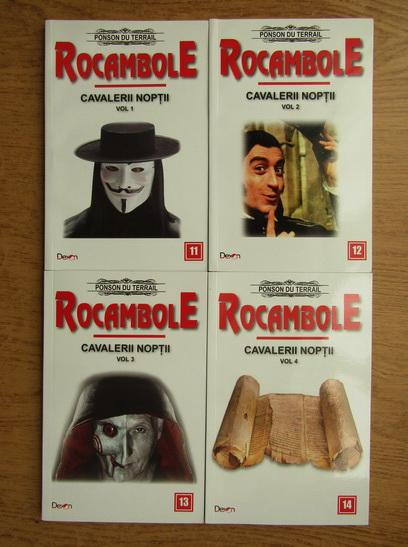 Anticariat: Ponson du Terrail - Rocambole. Cavalerii noptii (4 volume)