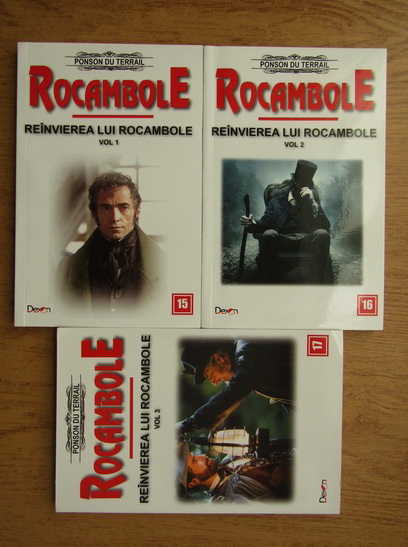 Anticariat: Ponson du Terrail - Rocambole. Reinvierea lui Rocambole (3 volume)