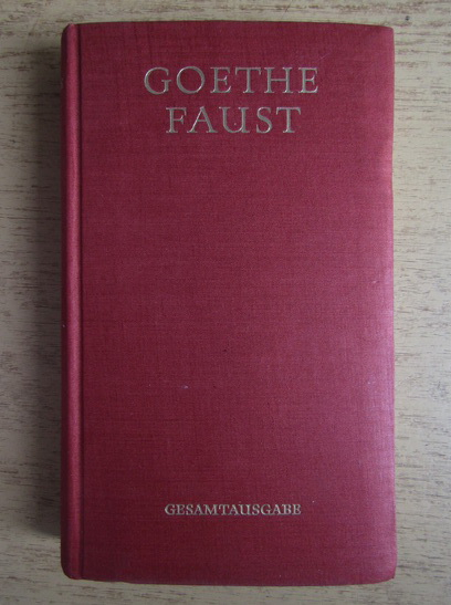 Anticariat: Goethe - Faust (1942)