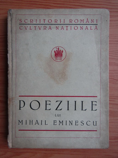 Anticariat: Mihai Eminescu - Poezii (1924)
