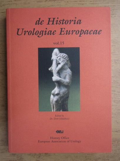 Anticariat: De historia urologiae europaeae (volumul 15)