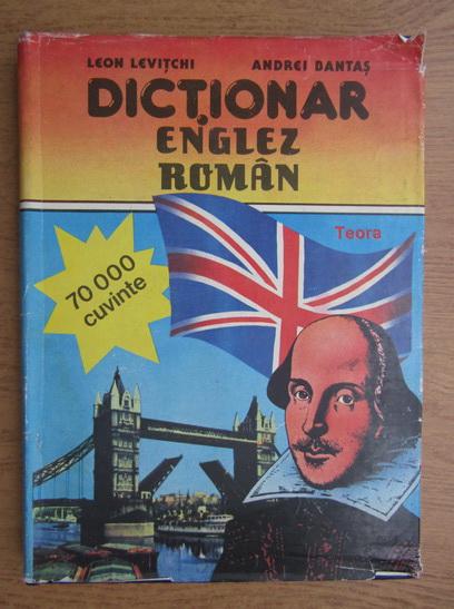 Anticariat: Leon Levitchi - Dictionar Englez-Roman