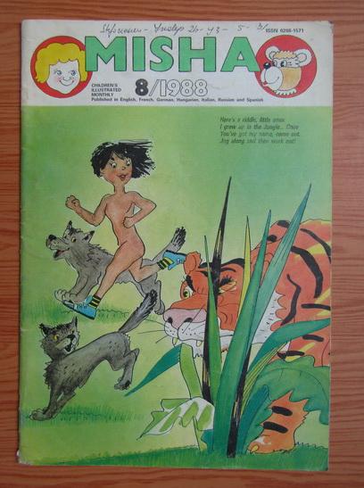 Anticariat: Revista Misha, nr. 8, 1988