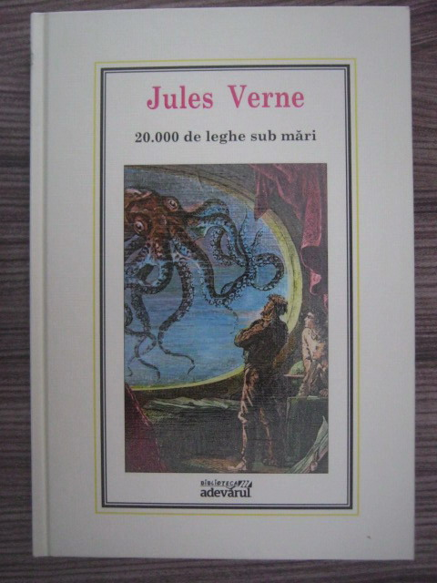 Anticariat: Jules Verne - 20.000 de leghe sub mari (Nr. 1)