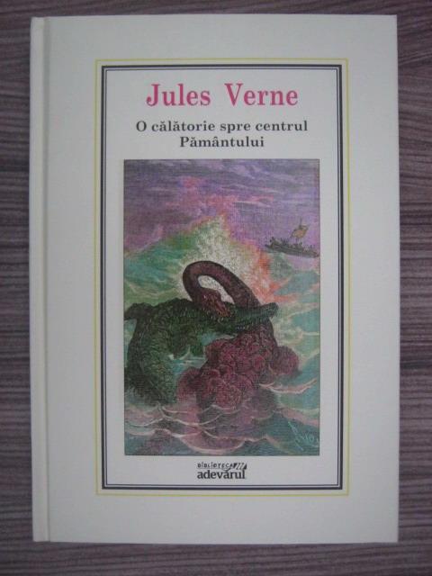 Anticariat: Jules Verne - O calatorie spre centrul Pamantului (Nr. 13)