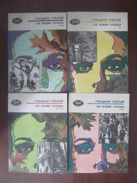 Anticariat: Margaret Mitchell - Pe aripile vantului (4 volume)