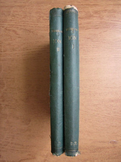 Anticariat: Liviu Rebreanu - Ion (2 volume, 1927)