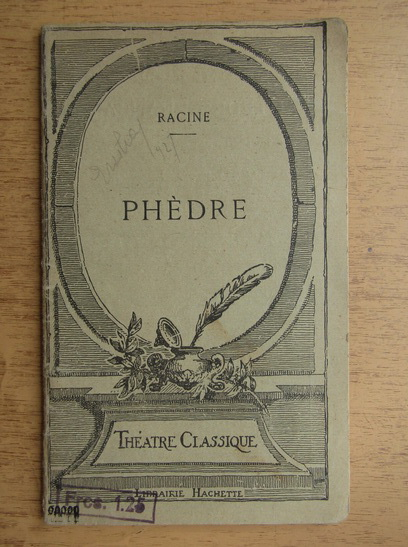 Anticariat: Racine - Phedre (1924)