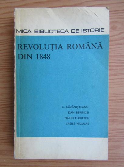 Anticariat: Constantin Cazanisteanu - Revolutia romana din 1848
