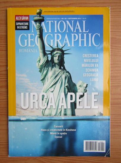 Anticariat: Revista National Geographic Romania, nr. 125, septembrie 2013