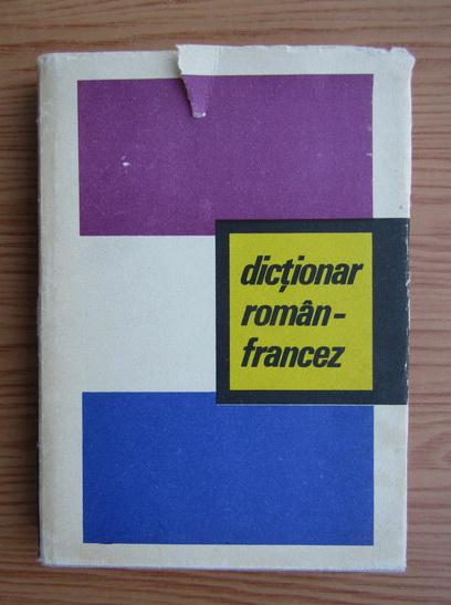 Anticariat: Dictionar roman-francez
