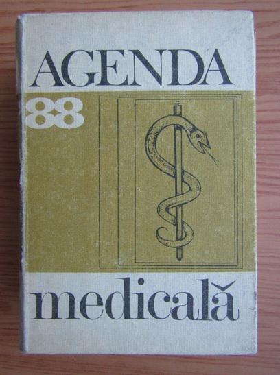 Anticariat: Constantin Chira - Agenda medicala '88