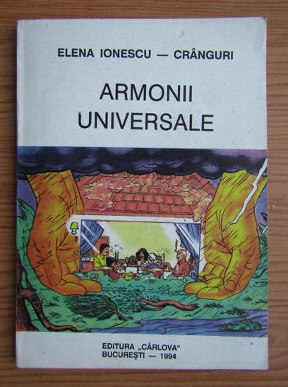 Anticariat: Elena Ionescu - Armonii universale