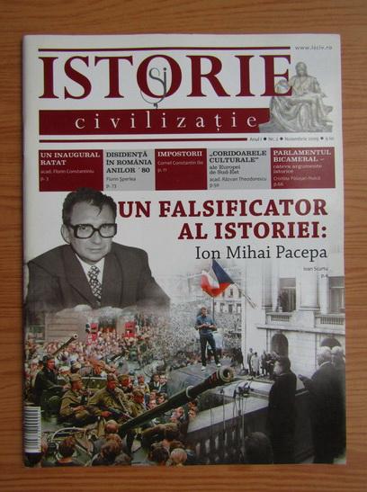 Anticariat: Revista Istorie si civilizatie, anul I, nr. 2, noiembrie 2009