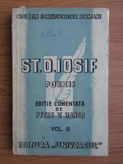 Anticariat: St. O. Iosif - Poezii (volumul 2, 1944)