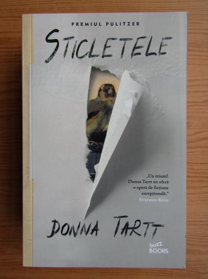 Anticariat: Donna Tartt - Sticletele
