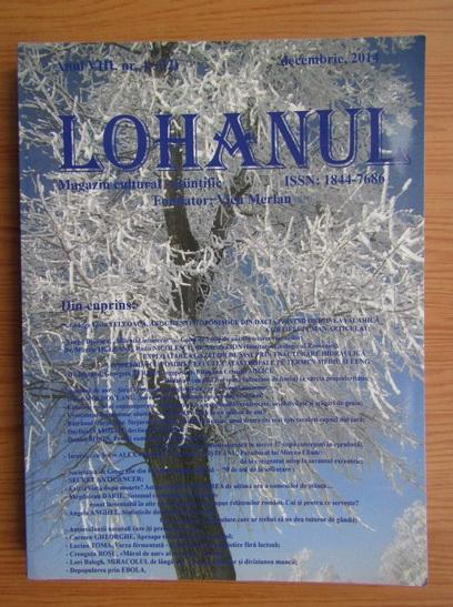 Anticariat: Revista Lohanul, nr. 32, decembrie 2014