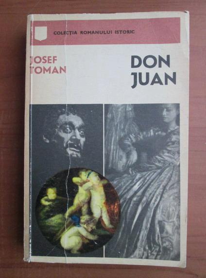 Anticariat: Josef Toman - Don Juan