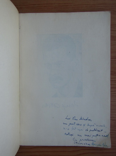 Anticariat: Jozsef Attila - Versuri (cu autograful Veronicai Porumbacu)