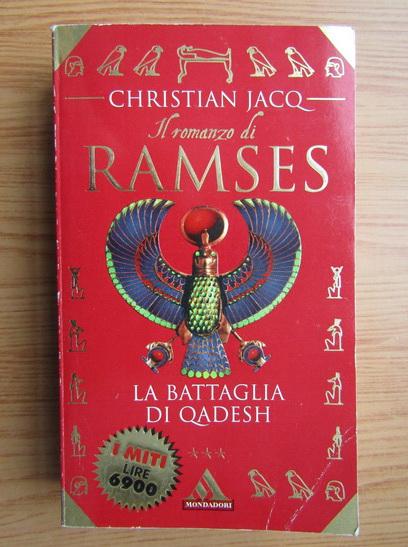 Anticariat: Christian Jacq - Il romanzo di Ramses