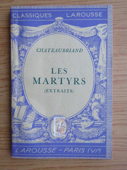 Anticariat: Felix Guirand - Les martyrs (1940)
