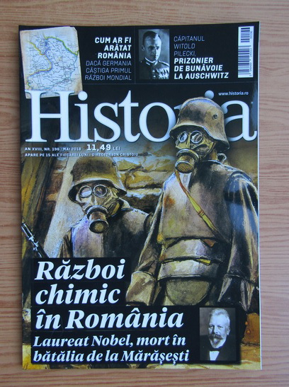 Anticariat: Revista Historia, anul XVIII, nr. 196, mai 2018