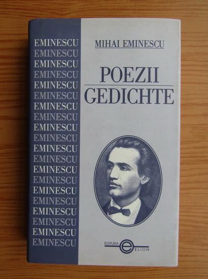 Anticariat: Mihai Eminescu - Poezii. Gedichte (editie bilingva romana-germana)