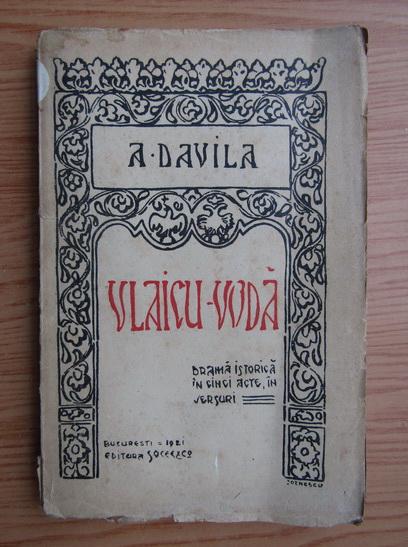 Anticariat: Alexandru Davila - Vlaicu Voda (1921)