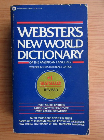 Anticariat: David B. Guralnik - Webster's new world dictionary