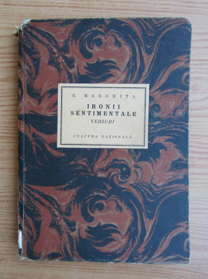 Anticariat: E. Marghita - Ironii sentimentale (1930)