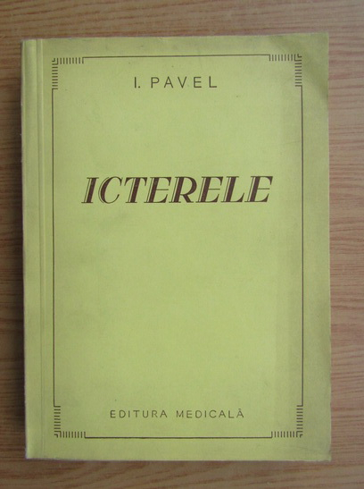 Anticariat: I. Pavel - Icterele