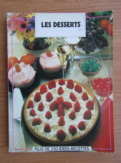 Anticariat: Les Desserts