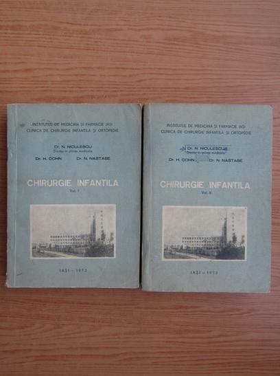 Anticariat: N. Niculescu - Chirurgie infantila (2 volume)